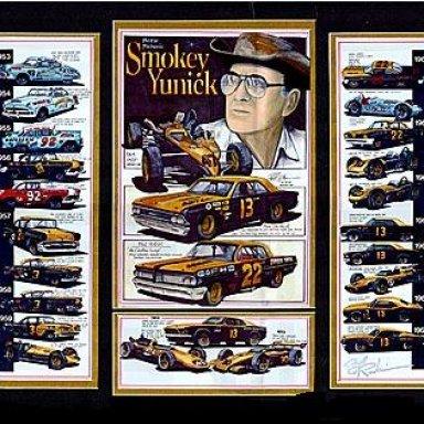 smokey yunick art work