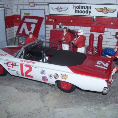 """Little"" Joe Weatherly's 1960 Ford"