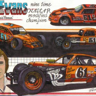 Richie Evans artwork