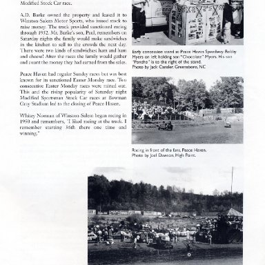 "Peace Haven Speedway - ""When Racing Was Racing"""