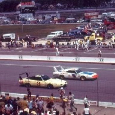 Don White & Roger McCluskey Dodge Daytonas