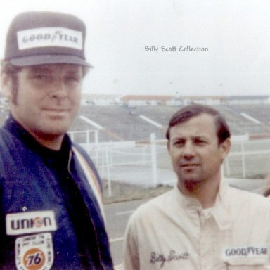 Billy Scott - Buddy Baker World 600 1973