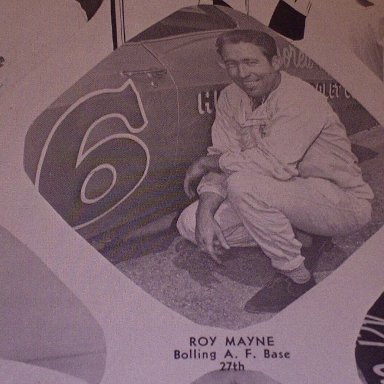 #2 Roy Elwood Mayne - (early issue) 1966 NASCAR Magazine and Official Race Program