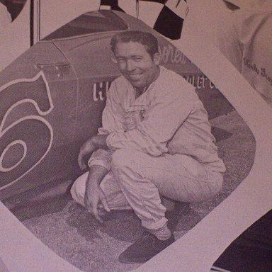 #3 Roy Elwood Mayne - (early issue) 1966 NASCAR Magazine and Official Race Program