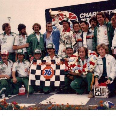 Harry Gant 1982 National 500 win