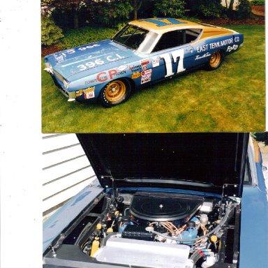 David Pearson car restored by Jim Lindholm