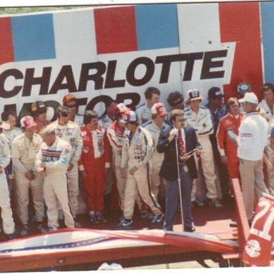 Charlotte '82 fall race
