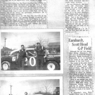 Billy Scott Runs Greenville Pickens