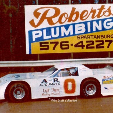 Billy Scott - Cherokee Speeway 1980s'