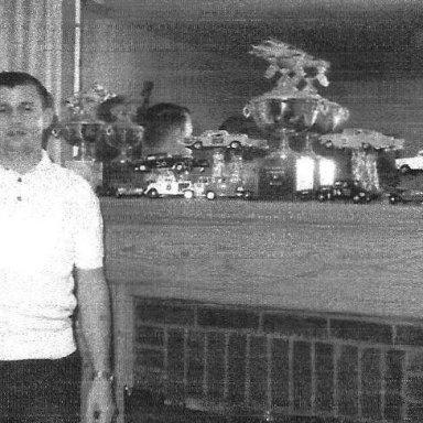 BILLY SCOTT BEGINS TROPHY COLLECTION 1960S'