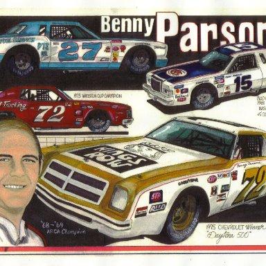 Benny Parsons artwork