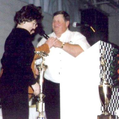 Billy Scott Banquet - Billy's daughter Debbie and Bill Connell  Harass Pete Keller