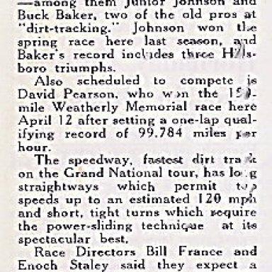 Nascar Newsletter 9/15/1964