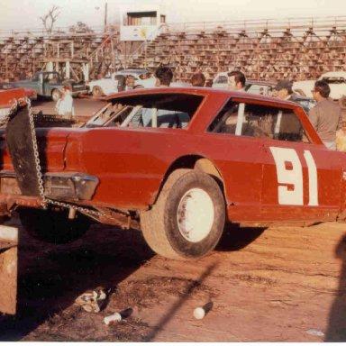 91 Billy Owens at Charleston SC Speedway 1972