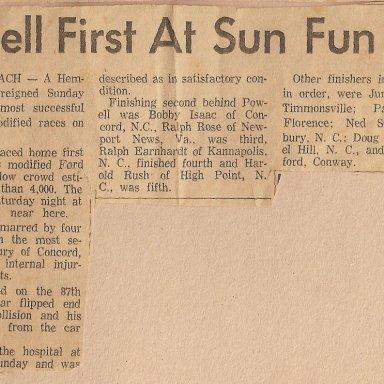 Rambi Raceway  - June 8, 1963