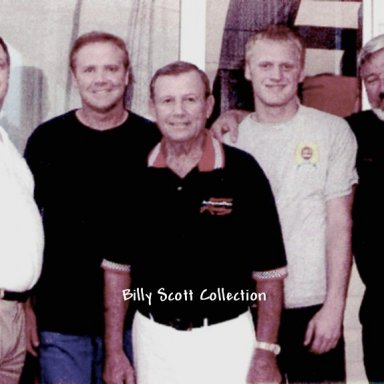 Billy Scott and The Wallaces At Carolina Speedway