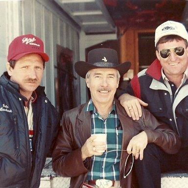 Dale Earnhardt, Roy Mayne & Richard Childress