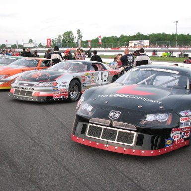 Keith McLeod 19 Dodge Fast time June 8
