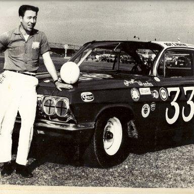 """Roy Mayne & """"33"""" car"""