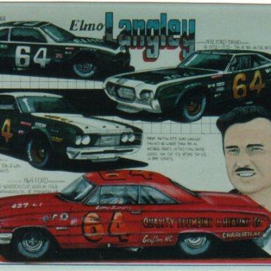 Elmo Langley artwork