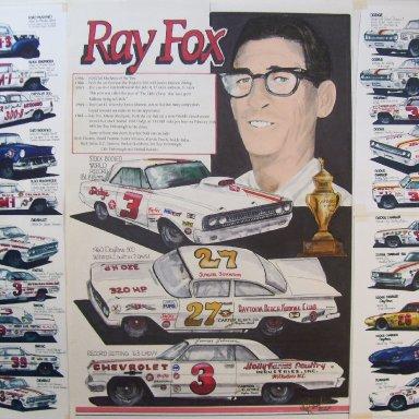 Ray Fox art work