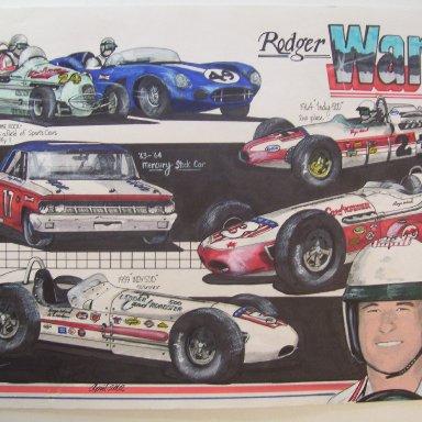 Roger Ward art work