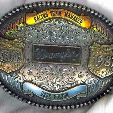 Big Wrangler Belt Buckle
