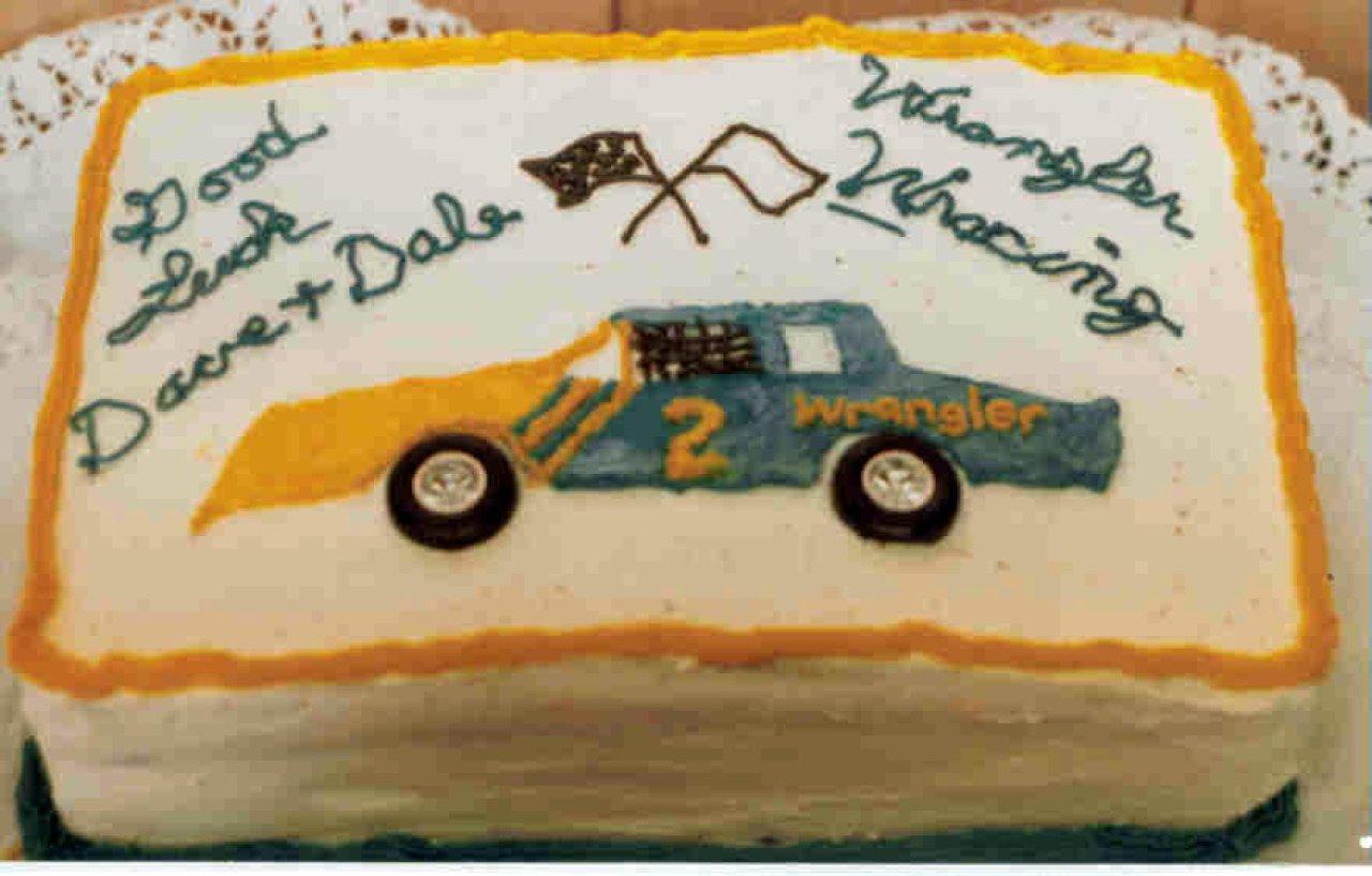 Wrangler Going Away Cake Gallery Dave Fulton Racersreunion