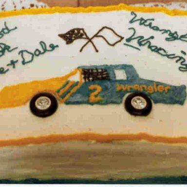 Wrangler Going Away Cake