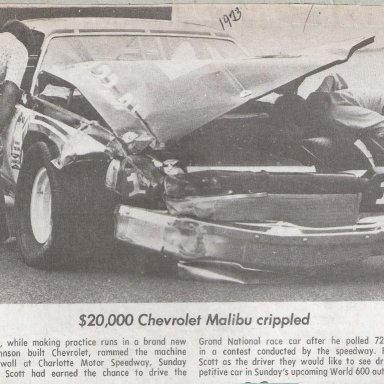 $20,000 Race Car