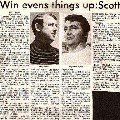 Battling Scott And Plyler 1970's