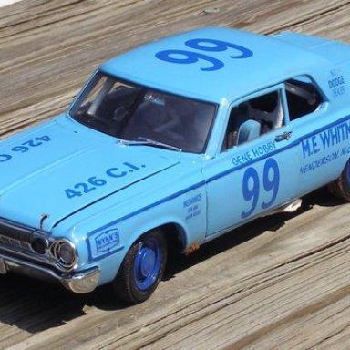 Replica of Dodge driven in 1965