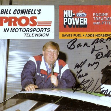 Voice of the Speedway - Bill Connell