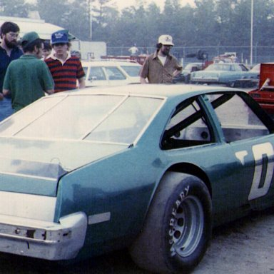Dick McCabe Oxford Open early 1980's