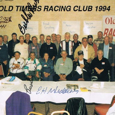 Old Timers Club 1994