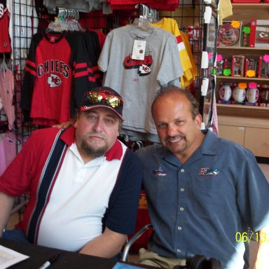 Me with Danny Lasoski