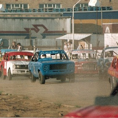 Stock Rods at Wisbech in the 80's
