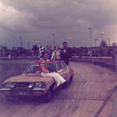 Spedeworth pace car. A MK III Cortina