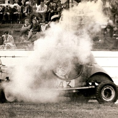 Smoking Superstox at Ipswich in the 60's