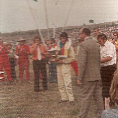 Neil Bee 1976 World Champ at Kalderkerken.