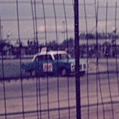 Stock car rejoining at Wisbech.