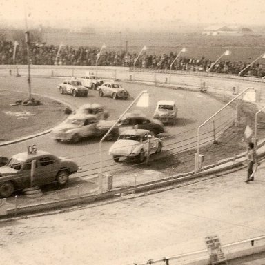 Stock Cars at Yarmouth stadium 60's
