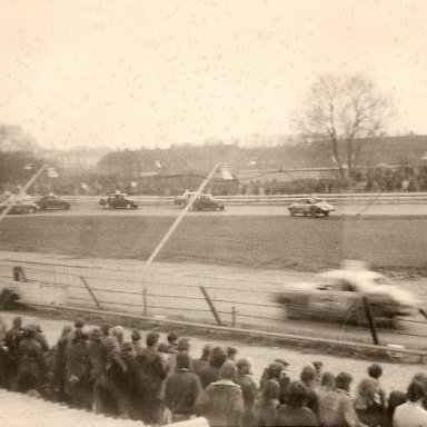 Stock cars possibly at Aldershot? late 60's