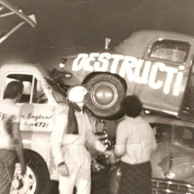 Stunt gone wrong 60's