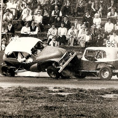 Superstox getting stuck in at Ipswich 1960's