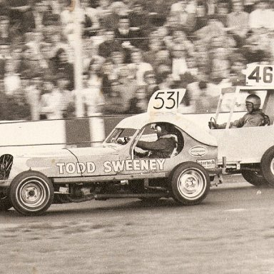 531 Todd Sweeney at Ipswich in the 70's