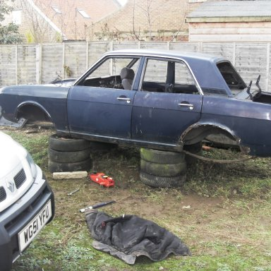 Tina. A 66 MK II Cortina 2009