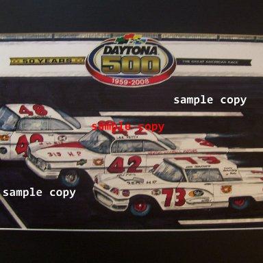 1959 Daytona 500 Finish