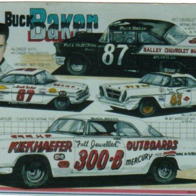 Buck Baker artwork