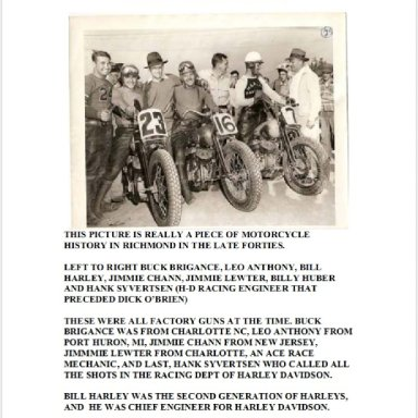 Motorcycle Racers - Late 40's
